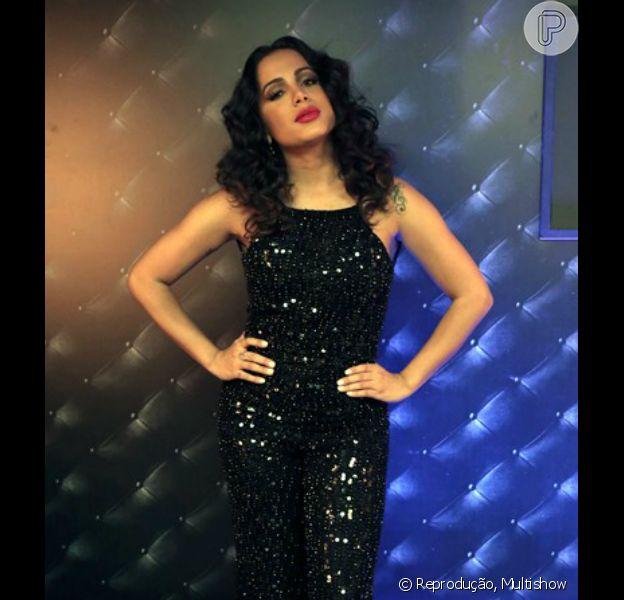 Anitta foi alvo de críticas na web após aparecer na TV com novo visual na terça-feira, 3 de maio de 2016