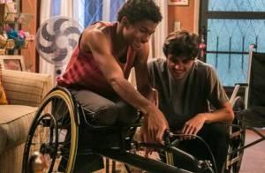 'Totalmente Demais':Jonatas abre mão de carro para dar cadeira de rodas a Wesley