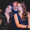 Paolla Oliveira vai à festa da filha do namorado, Rogério Gomes: 'Amados'