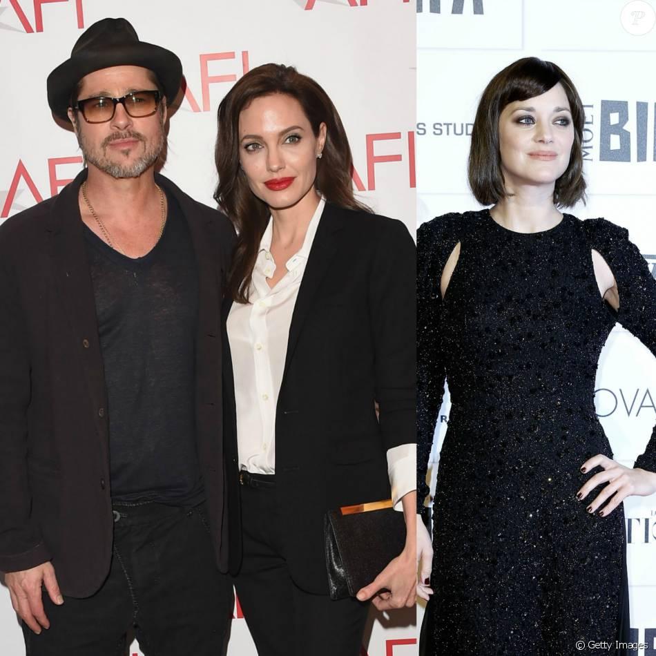 Brad Pitt traiu Angelina Jolie com a atriz francesa Marion Cottilard, afirma revista americana
