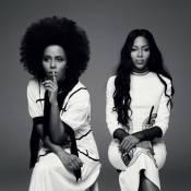 Maju aparece com cabelos 'black power' em fotos com Naomi Campbell em revista