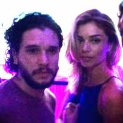 Grazi Massafera assume beijo em Kit Harington, o Jon Snow de 'Game of Thrones'