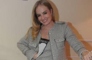 Angélica afirma que não se preocupa com fios brancos: 'Meu cabelo está natural'