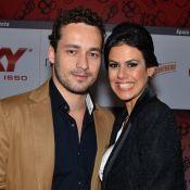 Rodrigo Andrade vai a evento com a namorada, Joyce de Paulo: 'Tudo muito bom'