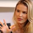 Yasmin Brunet foi entrevistada por Gabriela Pugliesi no canal da musa fitness no Youtube, 'Vendi meu Sofá'