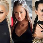 Trança boxeadora: veja 40 fotos de famosas que apostam no penteado de cabelo