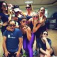 Juliana Paes também pratica aulas de dança para manter a silhueta em dia