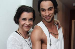 Pablo Morais, apontado como affair de Anitta, exibe tatuagem romântica em show