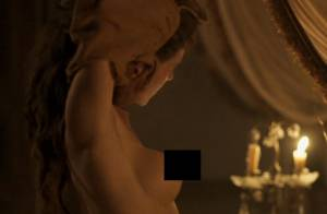Hanna Romanazzi mostra os seios em 'Liberdade' e movimenta a web: 'Olha o nude'