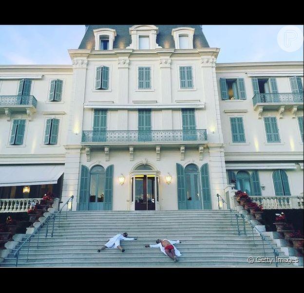 Katy Perry postou primeira foto com Orlando Bloom em seu Instagram nesta sexta-feira, dia 20 de maio de 2016