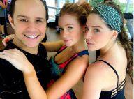 Marina Ruy Barbosa começa em aula de dança e professor elogia: 'Arrasando'
