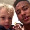 Davi Lucca já apareceu cantando sertanejo com Neymar