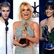 Justin Bieber, Britney Spears e Rihanna são premiados no Billboard Awards 2016