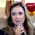 Daniela Mercury citou atentado a Ana Hickmann e lembrou ameaça que sofreu de fã: 'Com tesoura', em participação no 'Encontro com Fátima Bernardes' nesta segunda-feira, 23 de maio de 2016