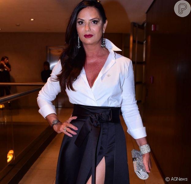 Luiza Brunet fará uma participação na novela 'Velho Chico' no papel da prostituta Madalena