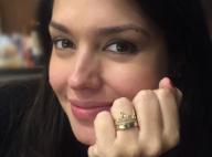 Grávida, Thais Fersoza exibe anel com nome da filha dado por Michel Teló: 'Xodó'