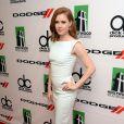 A atriz Amy Adams, investiu em um modelo Antonio Bernardi para comparecer ao Hollywood Film Awards, em Los Angeles, na última segunda, 21 de outubro de 2013