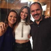 Juliana Paiva se declara para os 'sogros' de 'Totalmente Demais': 'Incríveis'