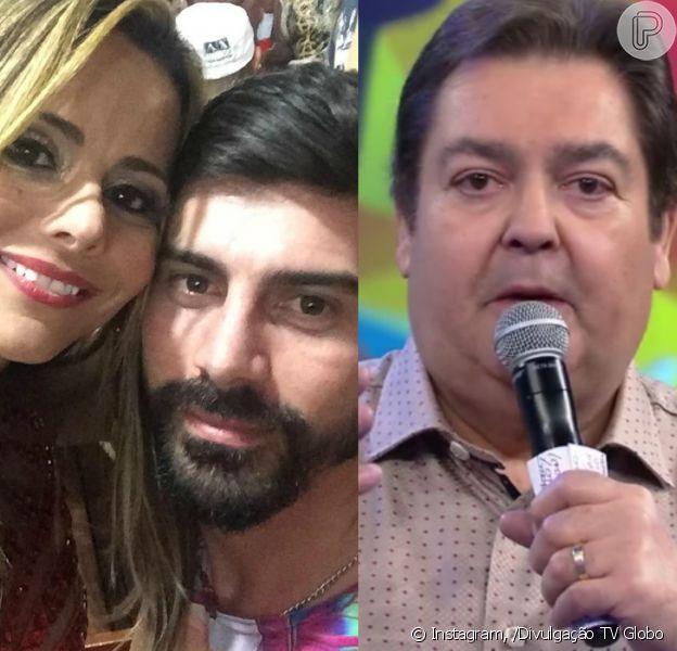 Faustão vai bancar a festa de casamento de Viviane Araújo e Radamés e exibir no seu programa, diz a coluna 'Retratos da Vida', do jornal 'Extra', nesta quinta-feira, 26 de maio de 2016