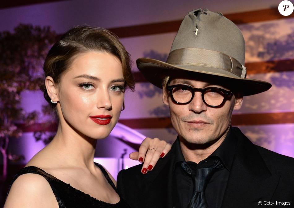 Amber Heard acusa Johnny Depp de violência doméstica. A atriz entrou com pedido de divórcio