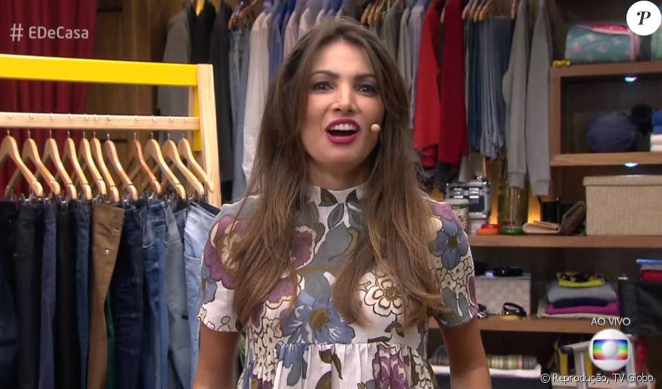 Patrícia Poeta foi alvo de brincadeira de internauta: 'Tá com cara que amanheceu na balada'