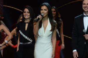 Mariana Rios apresenta Miss SP, assunto mais comentado na web, e ganha elogios