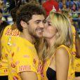 Os atores Lua Blanco e Fernando Roncato, que começaram a namorar no Carnaval desse ano, terminaram o relacionamento nesta quarta-feira, 23 de outubro de 2013