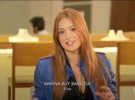 Marina Ruy Barbosa sobre cena que decide o par em Totalmente Demais': 'Difícil'