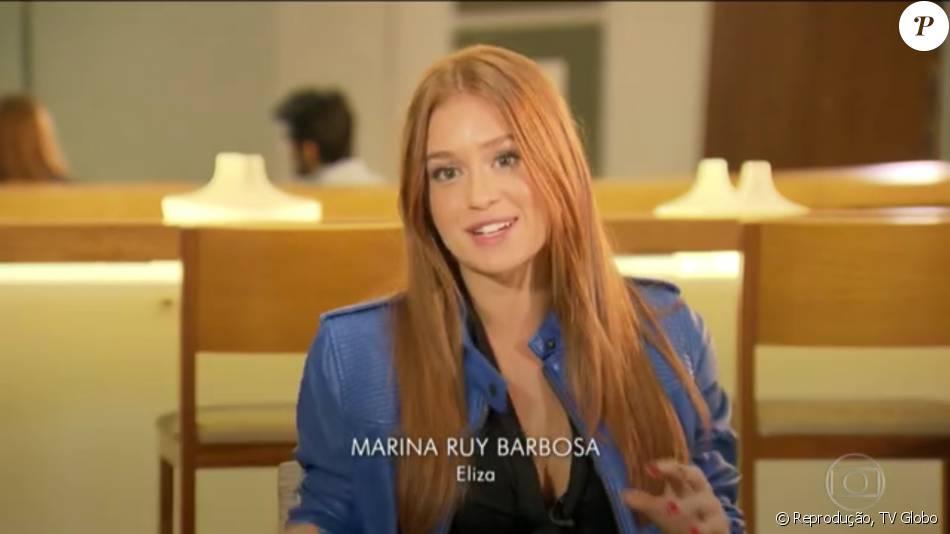 Fábio Assunção, Marina Ruy Barbosa e Felipe Simas falaram sobre o desfecho do trio amoroso de 'Totalmente Demais' no 'Fantástico' de domingo, 29 de maio de 2016: 'Difícil', disse Marina sobre a cena decisiva