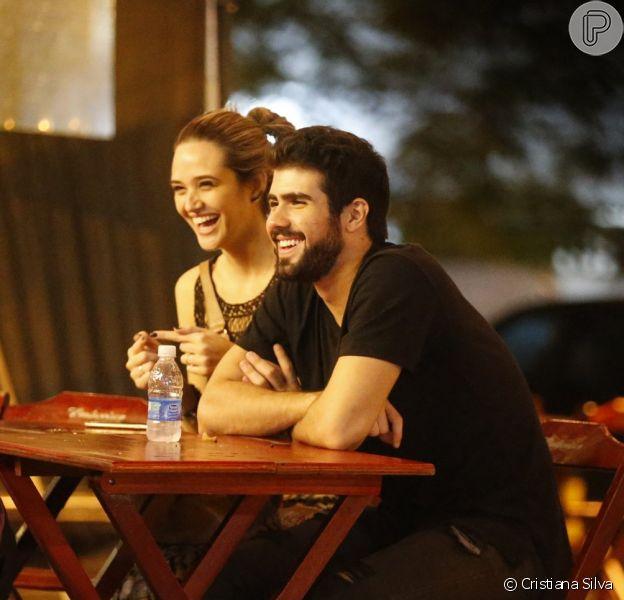 Juliana Paiva assume namoro com Juliano Laham nesta segunda-feira, dia 30 de maio de 2016