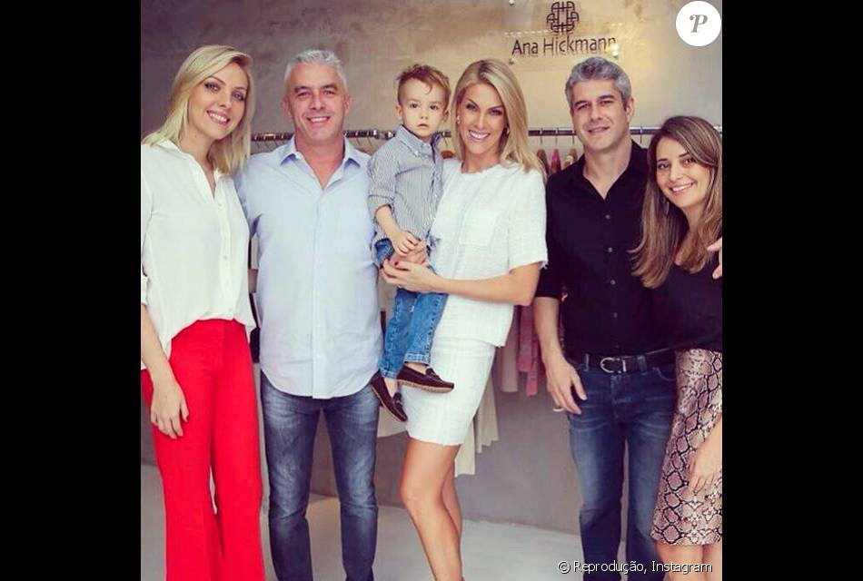 Ana Hickmann e os cunhados, Gustavo Correa e Giovana Oliveira sofreram um  atentado de um suposto fã da apresentadora no dia 21 de maio de 2016 63cf5144b5