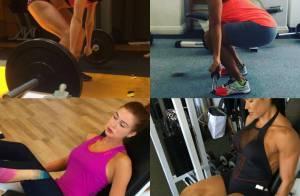 Famosas fitness: veja 30 artistas que não abrem mão da malhação e mostram fotos