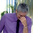 Otaviano Costa caiu na risada ao ouvir a resposta que Susana Vieira lhe deu quando ele perguntou se a atriz metia a língua quando beijava em cena: 'Eu não meto a língua, mas recebo'