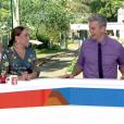 Na tarde desta quinta (02), Susana Vieira e Otaviano Costa protagonizaram momentos de muita descontração