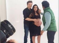Thais Fersoza exibe o barrigão de grávida em ensaio com Michel Teló. Fotos!