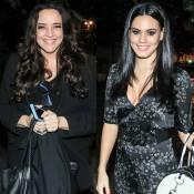 Ana Carolina e Letícia Lima vão à mesma festa, mas evitam posar juntas