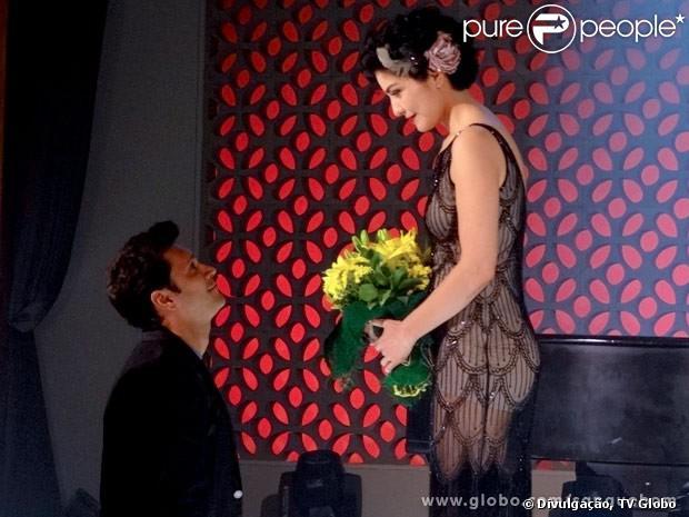 Érico (Armando Babaioff) e Verônica (Letícia Sabatella) podem não ficar juntos no final de 'Sangue Bom', em 1º de novembro de 2013