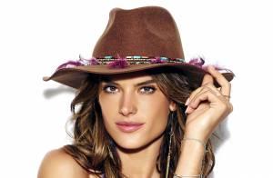 Alessandra Ambrosio conta quando se sente sexy: 'Com short jeans do meu noivo'