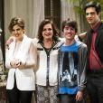 A família de Félix (Mateus Solano) fica desfeita com a revelação de que Jonathan (Thalles Cabral) é filho de César (Antonio Fagundes), em 'Amor à Vida'
