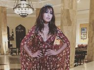 Sabrina Sato usa look decotado de grife em festival no Marrocos: 'Party time'