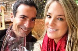 Ticiane Pinheiro e Cesar Tralli curtem domingo romântico em Campos do Jordão