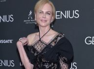 Nicole Kidman aposta em look transparente durante pré-estreia do filme 'Genius'
