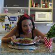 'Se a pessoa tem intolerância ou quer deixar o prato mais leve, a ideia é abusar do queijo light sem lactose', ensina  Gabriela Moreyra, protagonista da novela 'Escrava Mãe'