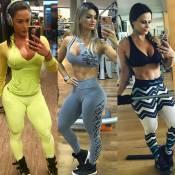 Veja famosas que modificaram seus corpos com malhação, dietas e exercícios