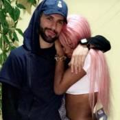 Ludmilla exibe cabelo rosa e se declara para o namorado: 'Mexeu com a emoção'