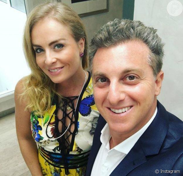 Angélica tem certeza de que a sua relação com Luciano Huck, com quem está casada há 12 anos, transcende esta vida. 'A nossa história é cármica', disse a apresentadora à revista 'Contigo!'
