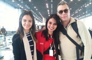 Fabio Assunção antecipa Dia dos Namorados e viaja com Pally Siqueira: 'Munique'