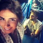 Giovanna Antonelli e Bruno Gagliasso gravam 'Sol Nascente' em Búzios. Fotos!