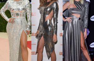 Famosas adotam tendência dos looks e acessórios metalizados. Veja 40 fotos!