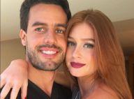 Marina Ruy Barbosa ganha buquê de flores do namorado, Xandinho Negrão: 'Sortuda'
